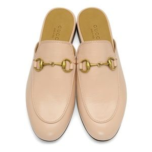 Gucci Pink Princetown Mules